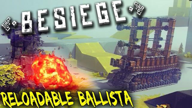 Besiege Reloadable Ballista