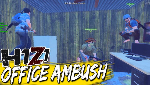 H1Z1 Battle Royale Shannonguns & Funny Moments – Office Ambush