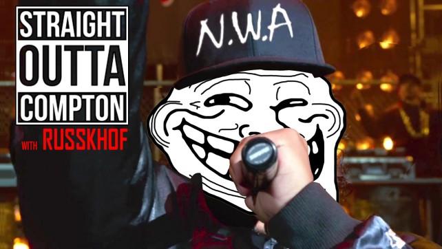 Russian Nerd Raps Straight Outta Compton